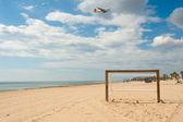 Landing for summer fun — Stock Photo