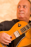 Jazz guitarist — Stock Photo