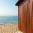 Beach hut — Stock Photo #6298011