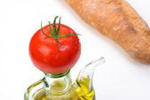 Mediterranean ingredients — Stock Photo