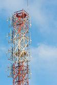 Telecom mast — Stock Photo