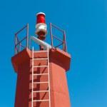Solar powered lighthouse — Stock Photo #6662983