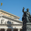 Maximilian Joseph and National Theater - Stock Photo