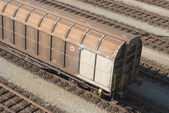 Cargo Train Car — Stock Photo