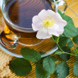 Tea with dog-rose — Foto de Stock