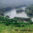 Dniester river landscape — Stock Photo