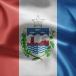 Flag of Brazil (Alagoas) — Stock Photo