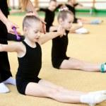 Young gymnast — Stock Photo