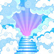 Stairway to heaven — Stock Vector #5613911