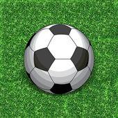 Football sur herbe — Vecteur