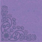 Mehndi flores 3 — Vetorial Stock