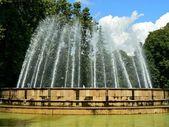 Gushing фонтан — Стоковое фото