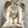 Statue of cherub — Stock Photo