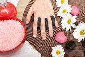 Beautiful spa hand — Stock Photo