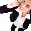 Businesswoman talking on phone — Stock Photo #5503366