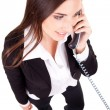 Businesswoman on the phone — Stock Photo #5504381