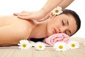 Massage, Konzept — Stockfoto