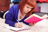 Concentrating student learning — Stock Photo