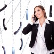 All time on phone — Stock Photo #5614212