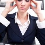 Business headache — Stock Photo