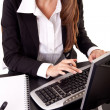 Employer businesswoman — Stock Photo