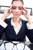 Business headache — Stock Photo