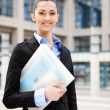 Royalty-Free Stock Photo: Successful smiling business woman