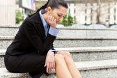 Empresária despedida — Foto Stock