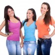 Three young girls — Stock Photo #5878811