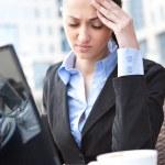 Headache and stress — Stock Photo #5878894