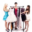 Fashion shopping - Foto Stock
