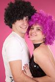дискотека танцоров — Стоковое фото