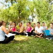 Lesson outdoor - Foto Stock