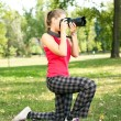Photographing - Stock Photo