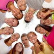 Group of happy friends — Stock Photo #6628383