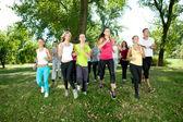Groupe de jogging — Photo