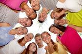 Skupina happy přátel — Stock fotografie