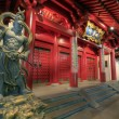 BuddhTooth Relic Temple Door Guardians — Stock Photo #5420603