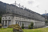 Historic Bonneville Lock and Dam Powerhouse — Stock Photo