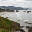 Crescent Bay at Cannon Beach Oregon Coast — Stock Photo