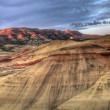 Stock Photo: Painted Hills in Oregon Panorama