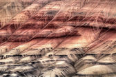 Painted Hills Oregon Closeup Abstract — Stock Photo