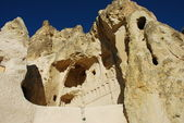 Church in the rock (Cappadocia) — Stock Photo