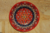Amazing handmade plate from Cappadocia — Photo