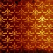 Rusty damask pattern — Stock Photo
