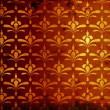 Stock Photo: Rusty damask pattern