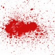Blood splatter — Stock Photo #5554048