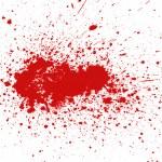Blood splatter — Stock Photo