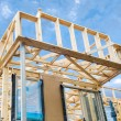 New home construction framing — Foto Stock