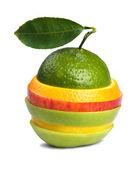 Mixed fruits — Stock Photo